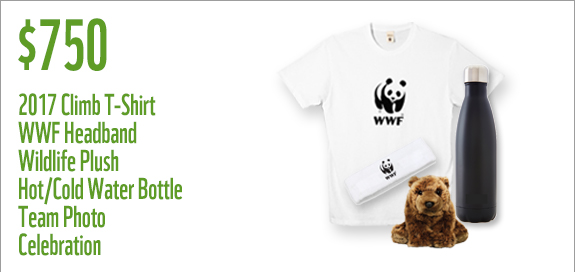 WWF Canada Sunday 750 Prize for teams